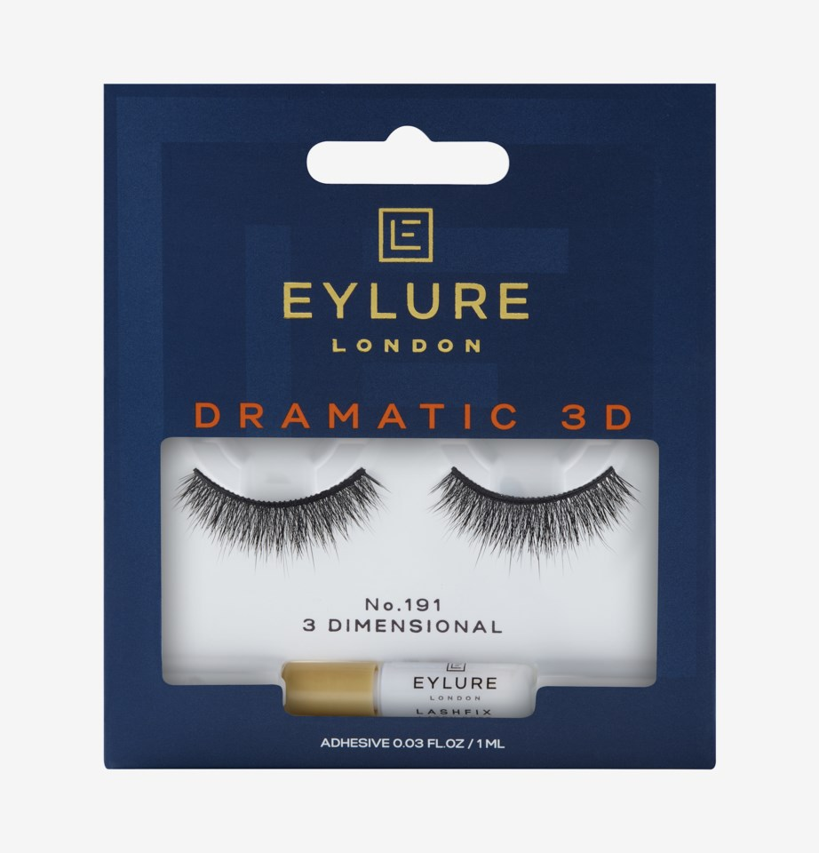 Dramatic 3D False Lashes 191