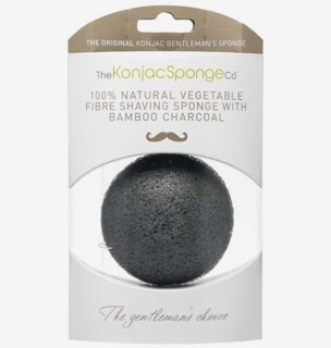Shaving Sponge with bamboo charcoal