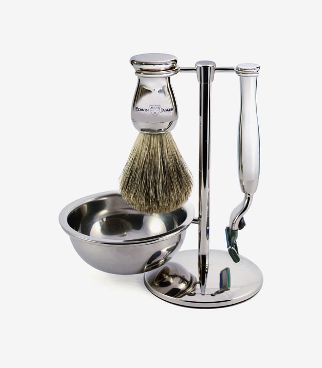 Shaving Set Chromium Chromium