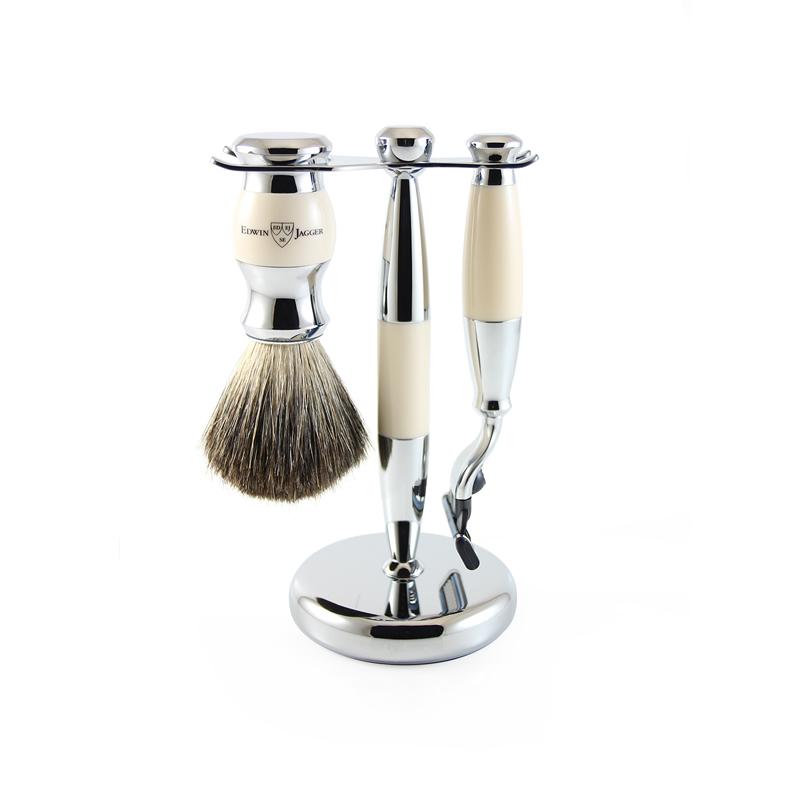Shaving Set Ivory