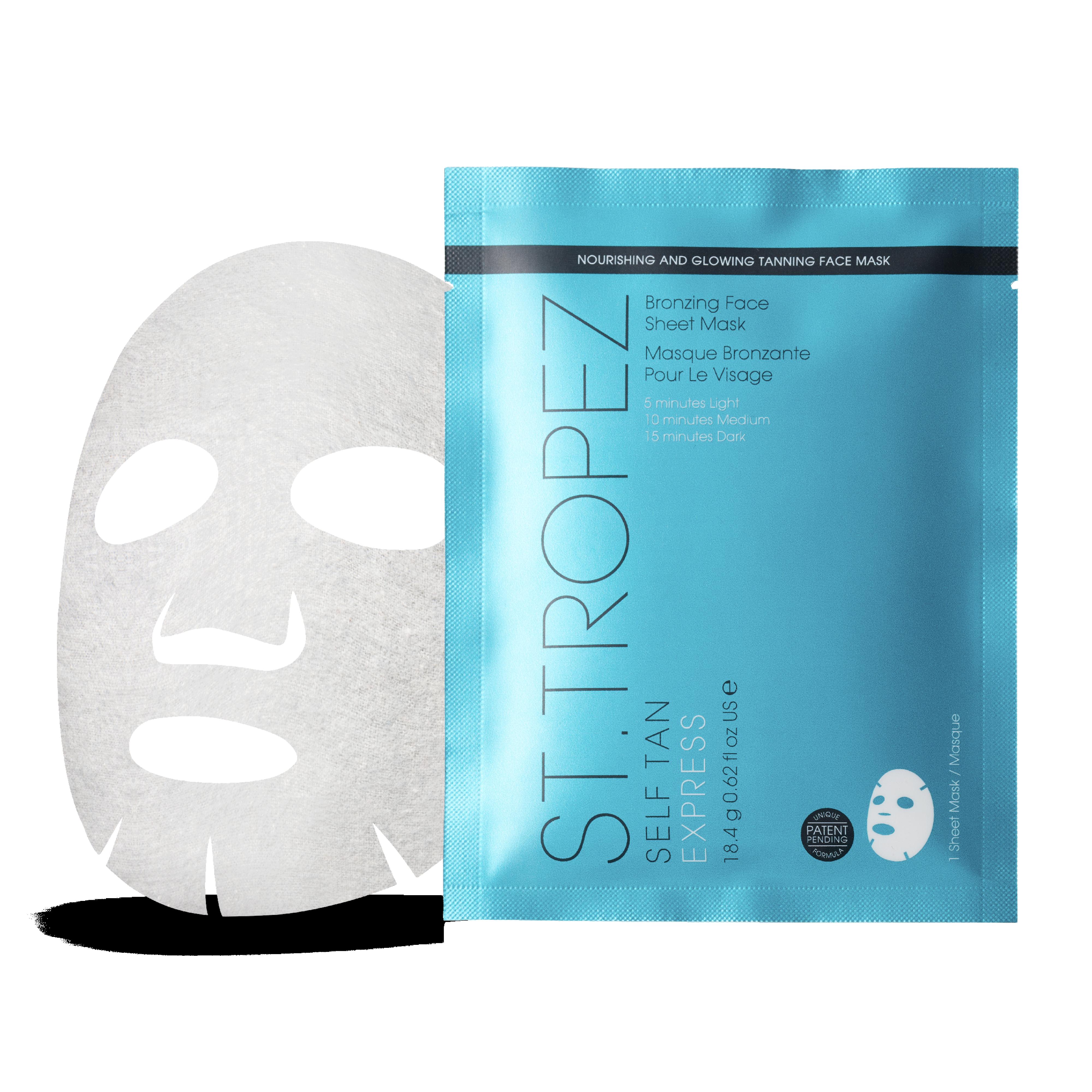 Self Tan Express Bronzing Sheet Mask