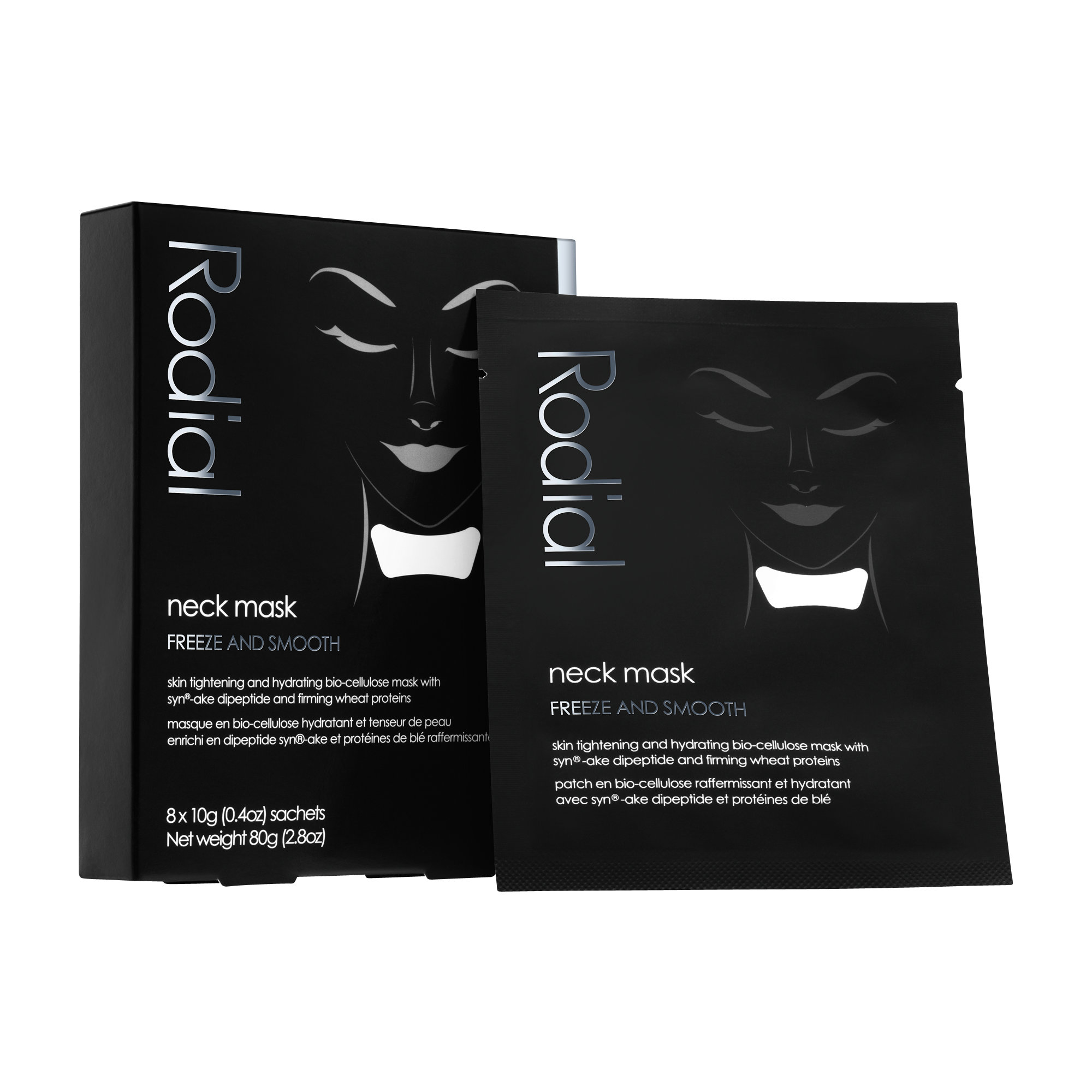 Neck Mask Facial mask for neck 8pcs