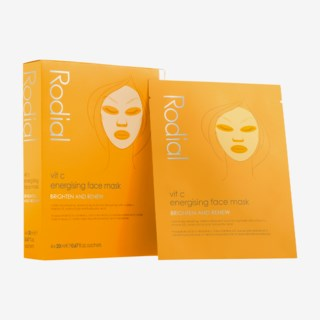 Vit C Energising Face Mask 4 x 20 ml
