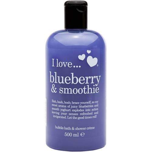 I LOVE SHOWER BLUEB&SMOOTHIE Blueberry & Smoothie