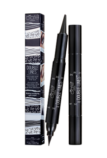 Double Lines Eyeliner Black