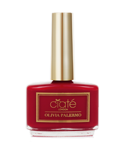 Olivia Palermo Nail Polish Hutch - My Go to Red