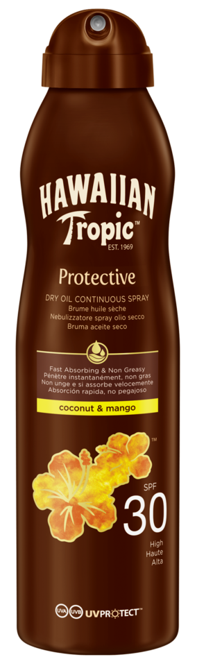 Protective Oil Dry Oil Coconut & Mango C-Spray SPF 30