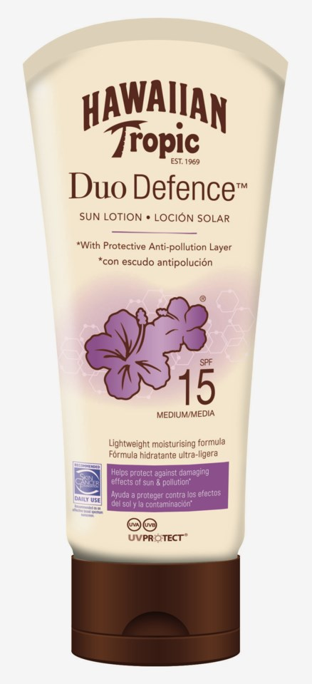 Duo Defence Sun Lotion SPF 15 180 ml