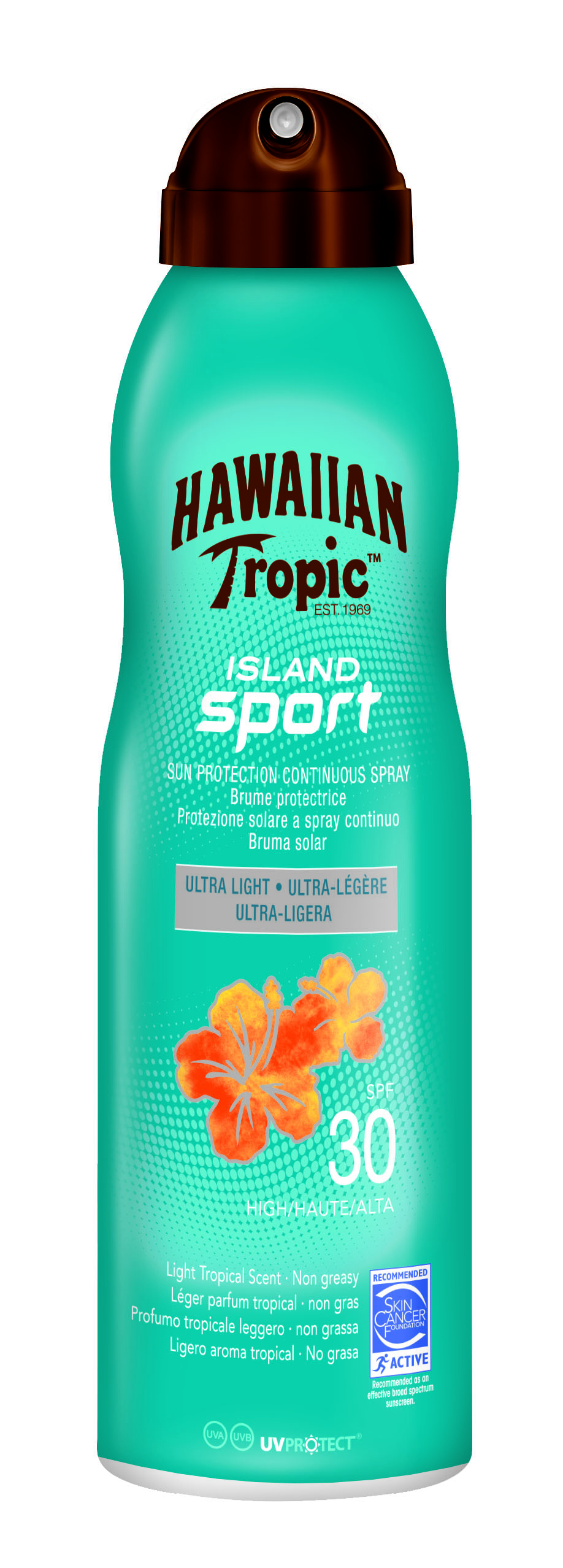 Island Sport Sun Protection Continuous Spray SPF 30 220ml
