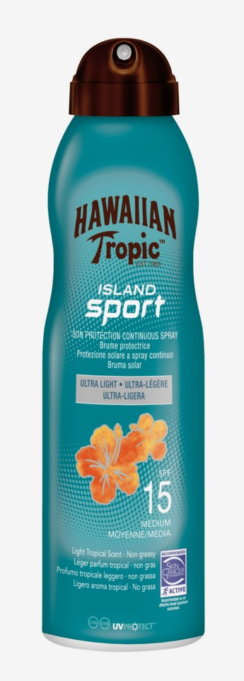 Island Sport Sun Protection Continuous SPF Spray 15 220 ml