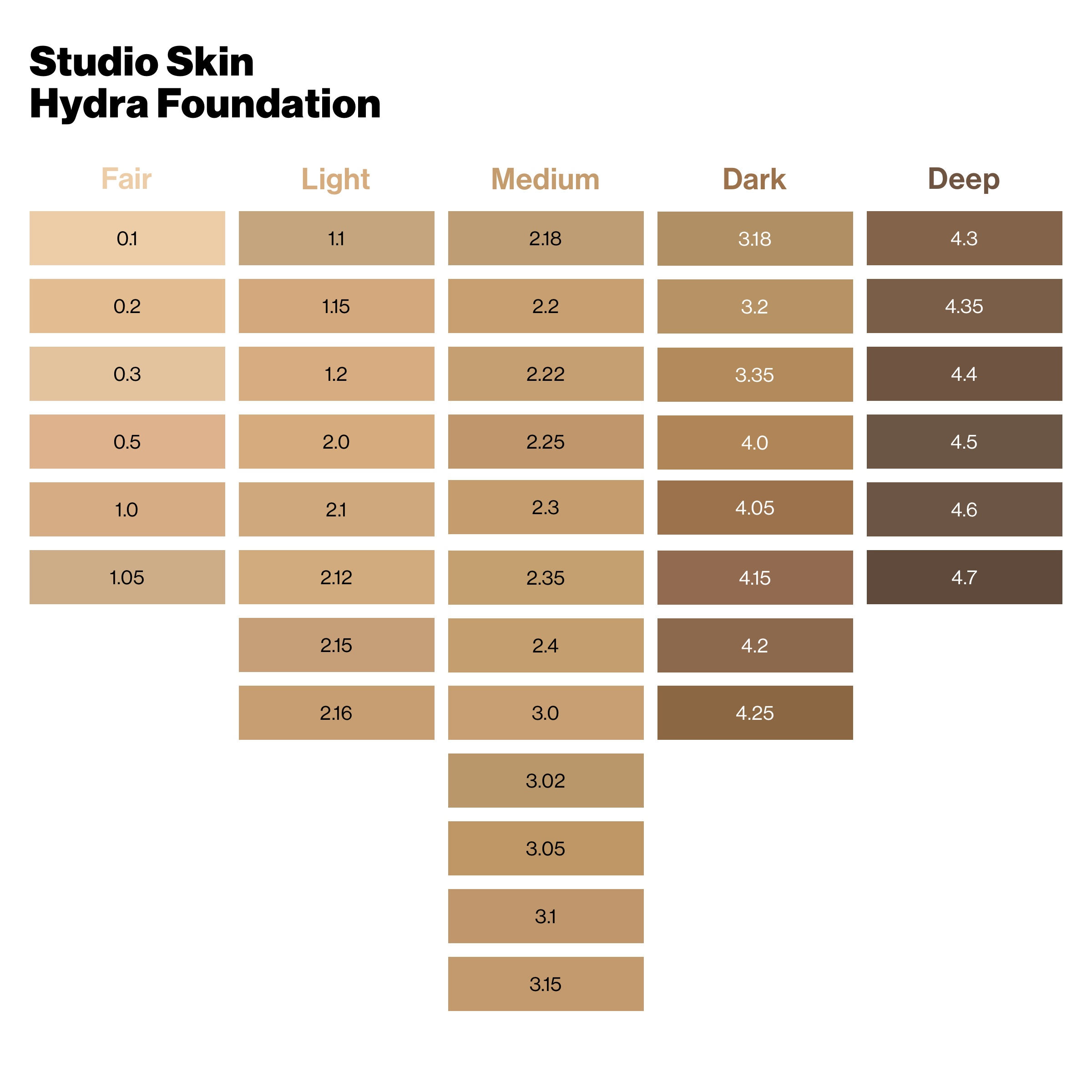 Studio Skin 24H Hydra Foundation 1.1 Fair Light Natural
