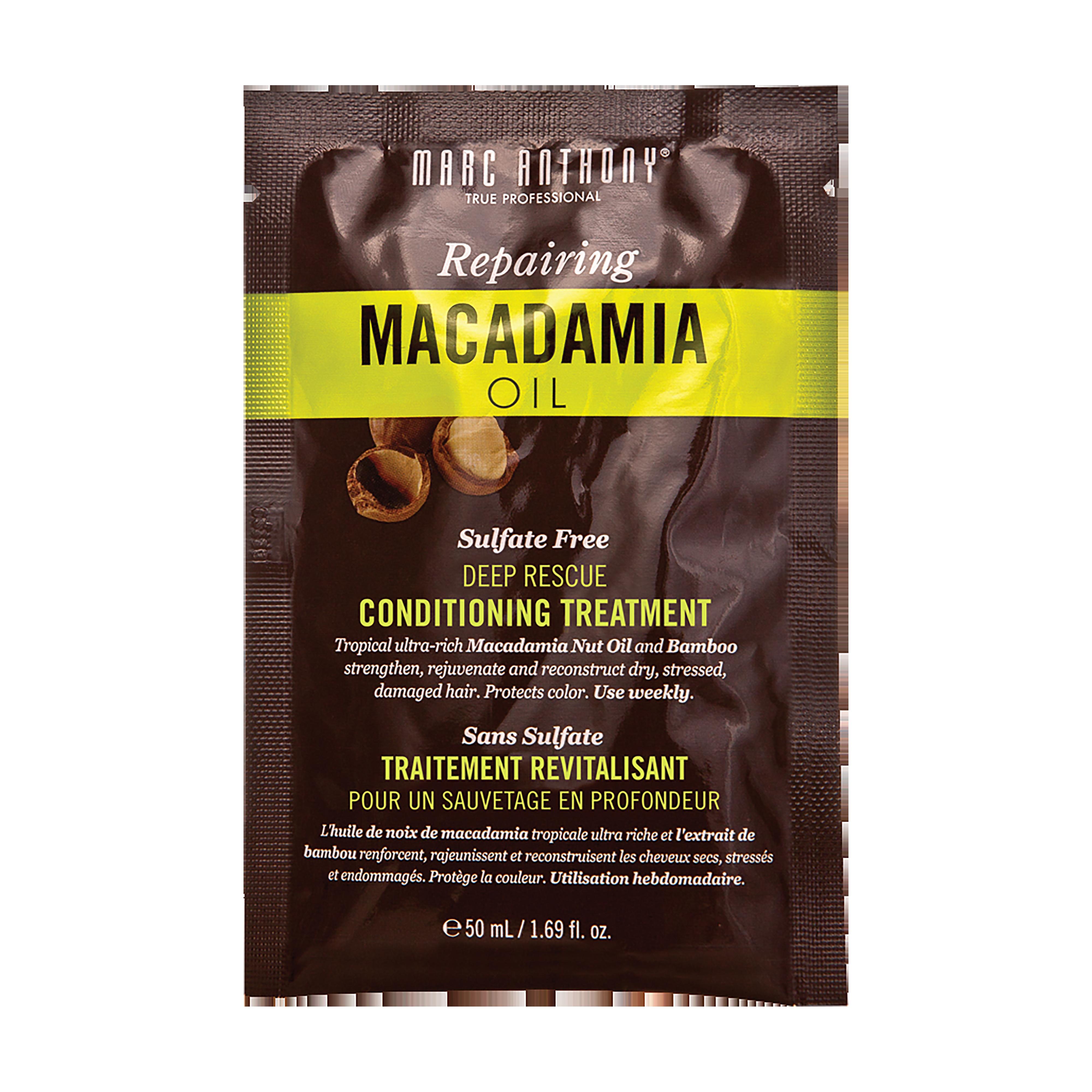 Repairing Macadamia Oil Conditioning Treament