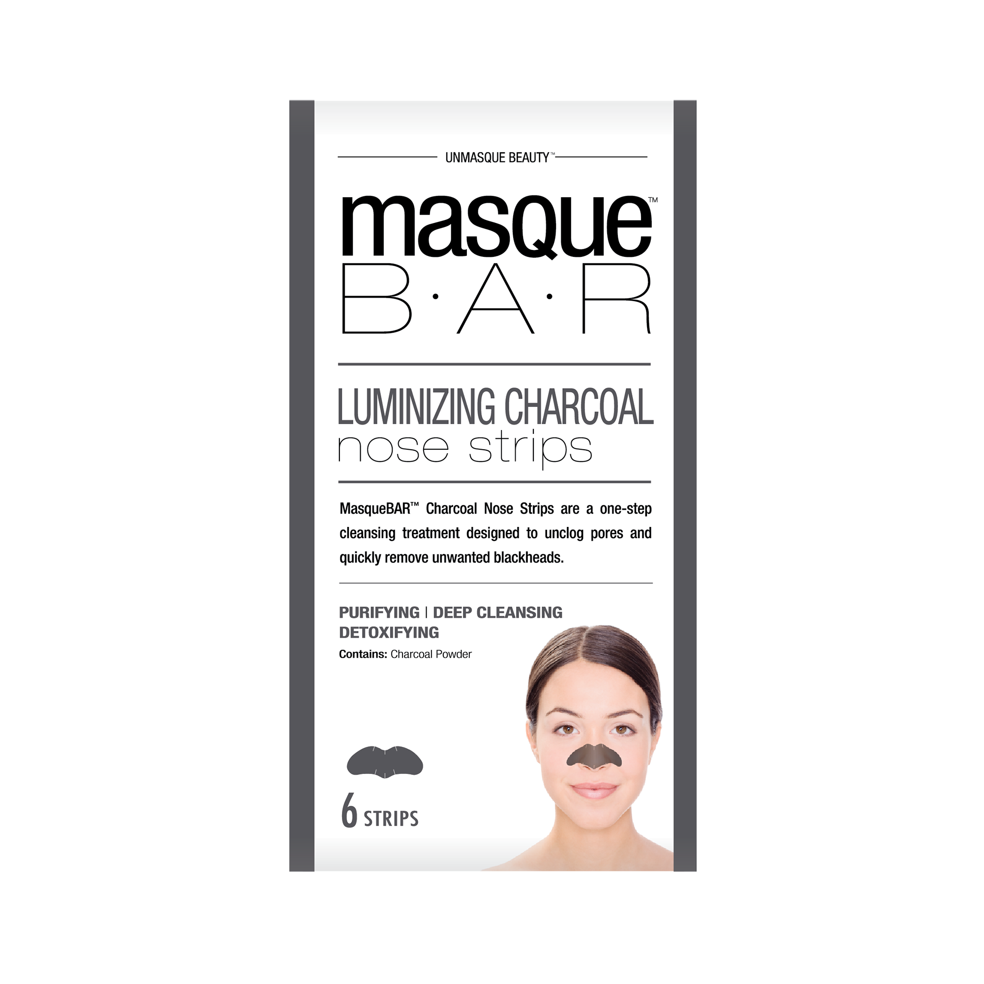 Charcoal Nose Strips 6st