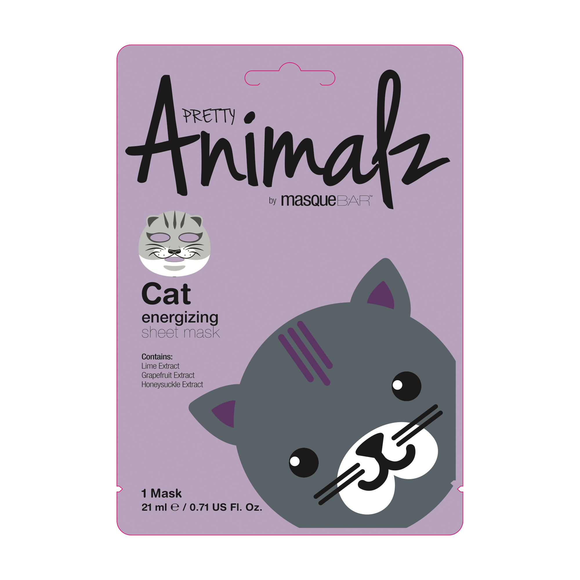 Animalz Cat Sheet Mask