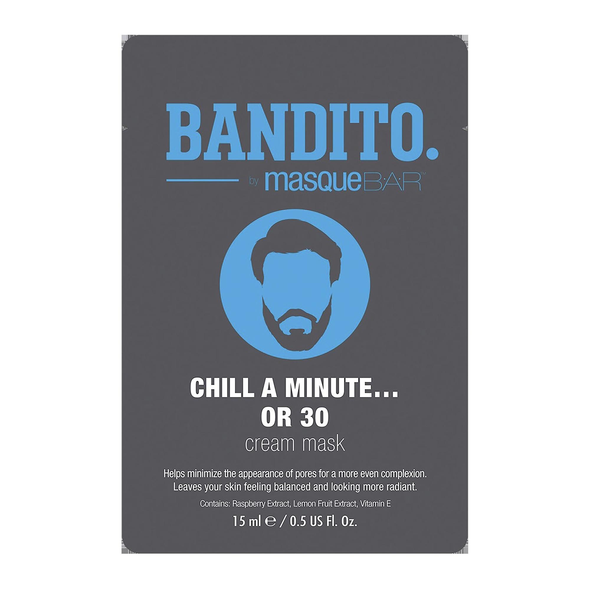 Bandito Chill A Minute Or 30 Cream Mask