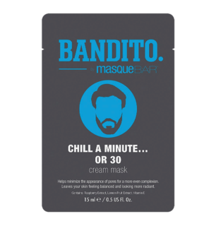 Bandito Chill A Minute Or 30 Cream Mask