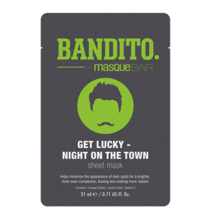 Bandito Get Lucky Night On The Town Sheet Mask