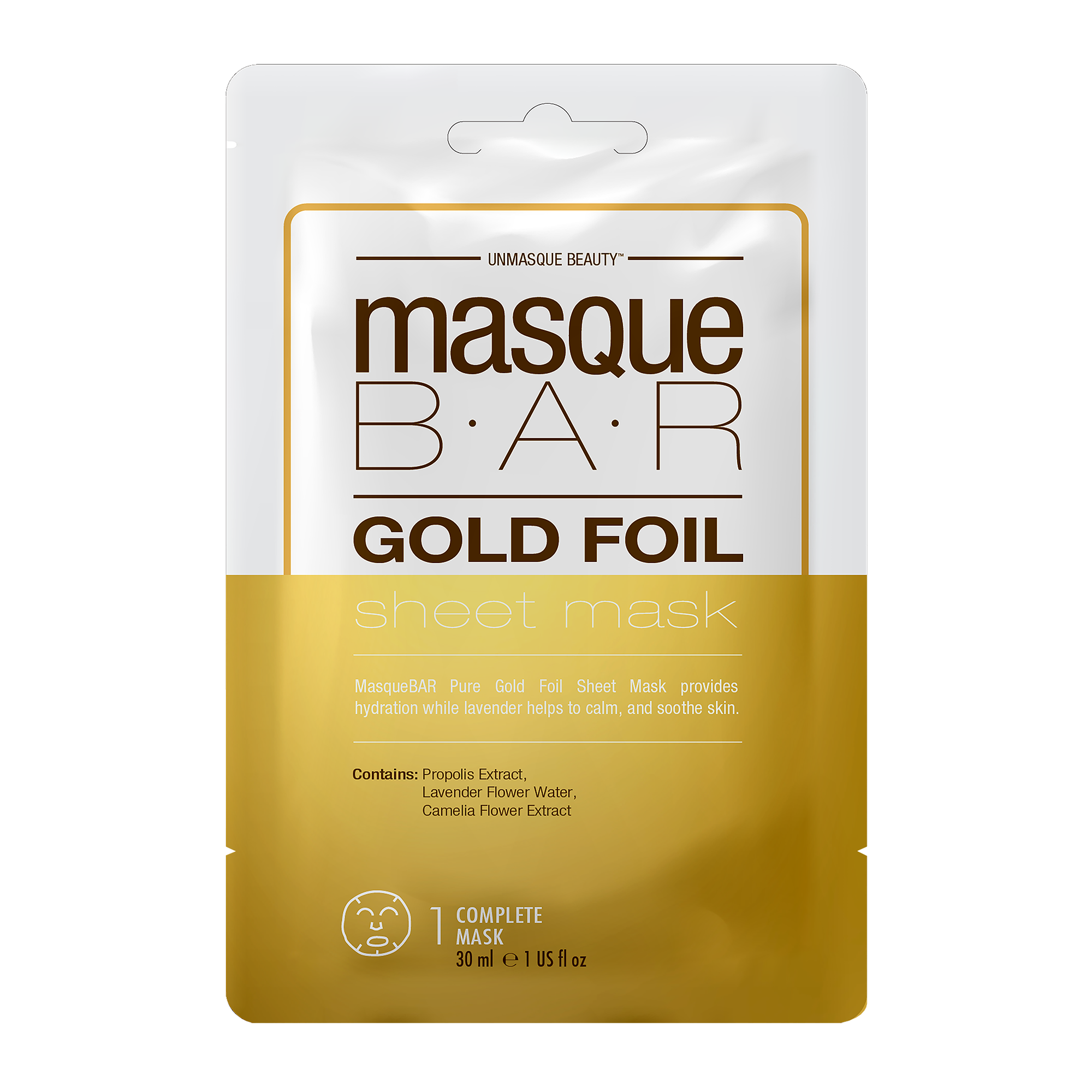 Foil Gold Sheet Mask