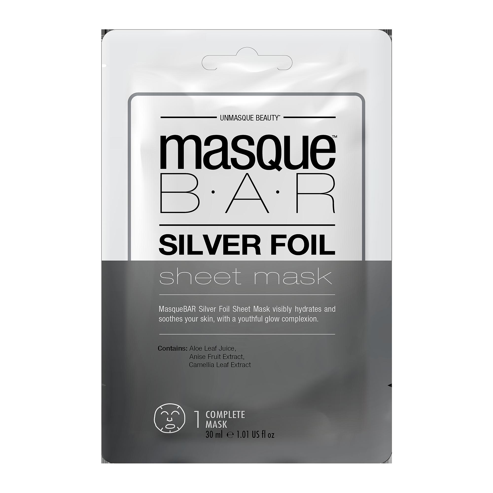 Foil Silver Sheet Mask