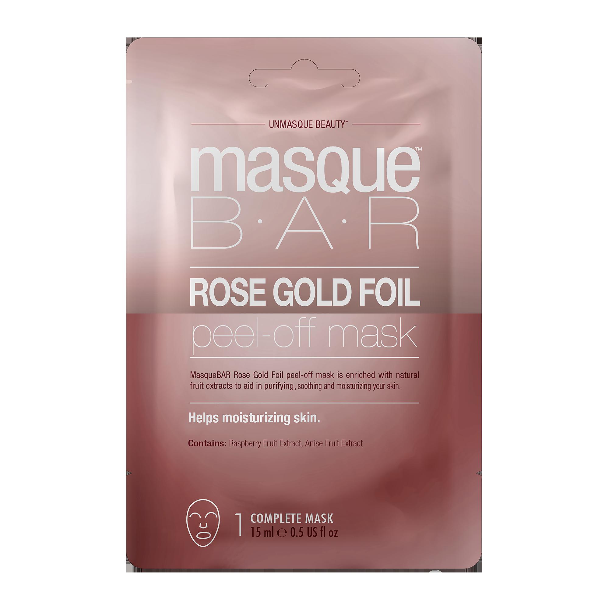 Foil Gold Peel Off Mask