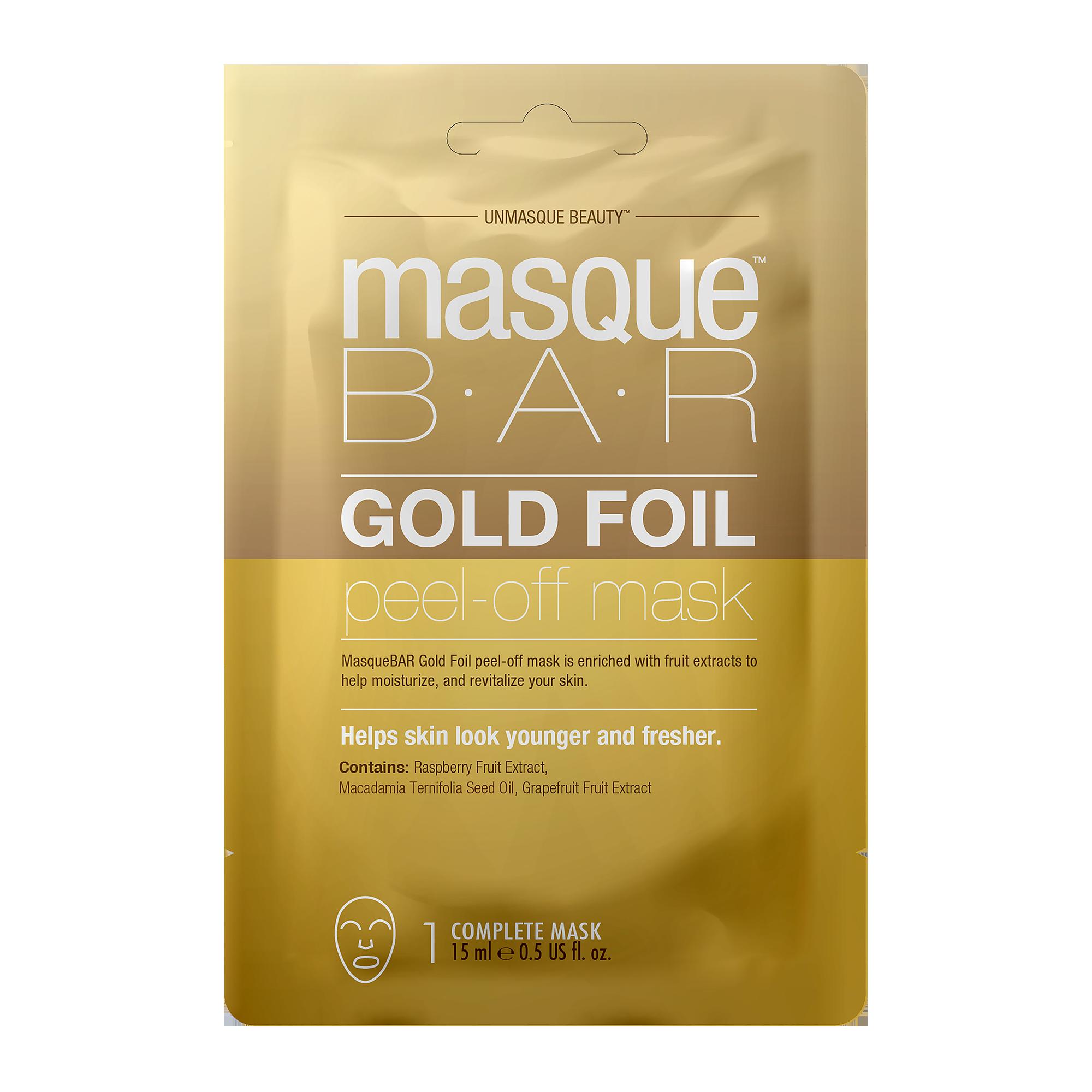 Foil Rosé Gold Peel Off Mask