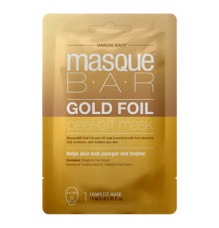 Foil Rosé Gold Peel Off Mask