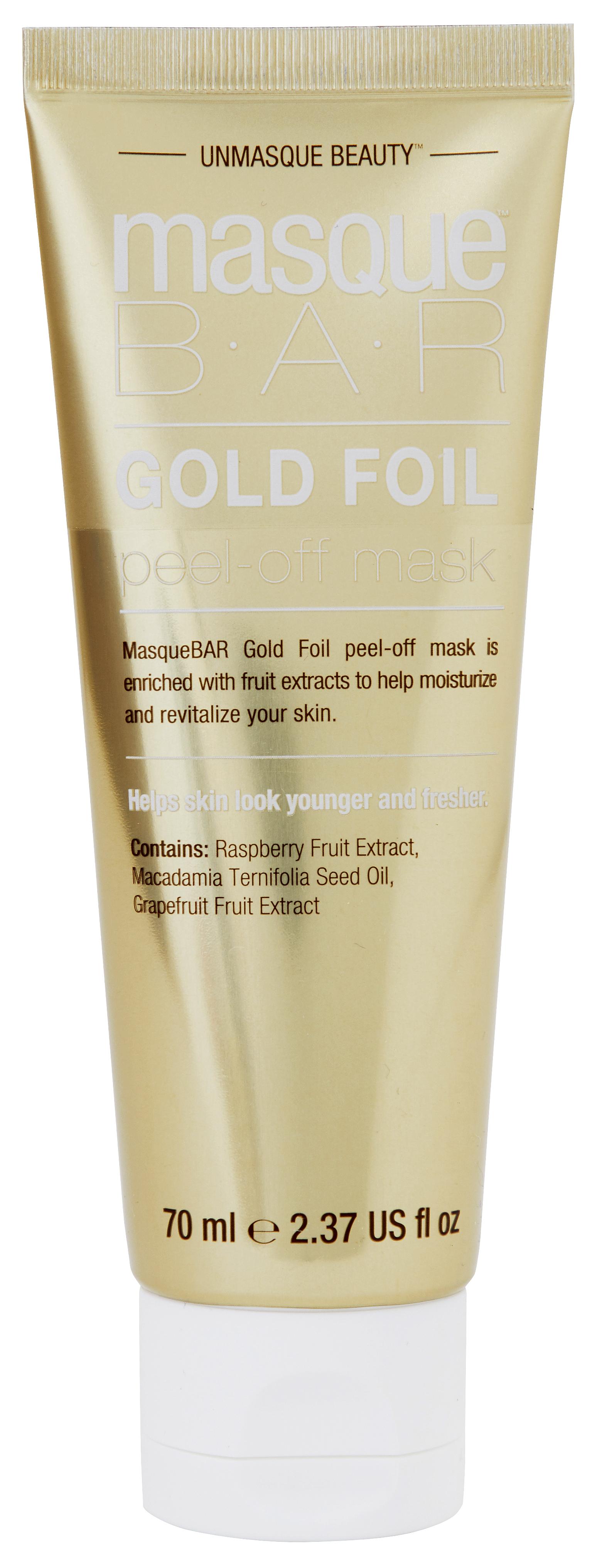 Gold Foil Peel-Off Mask Tube