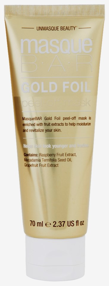Gold Foil Peel-Off Mask Tube 70ml