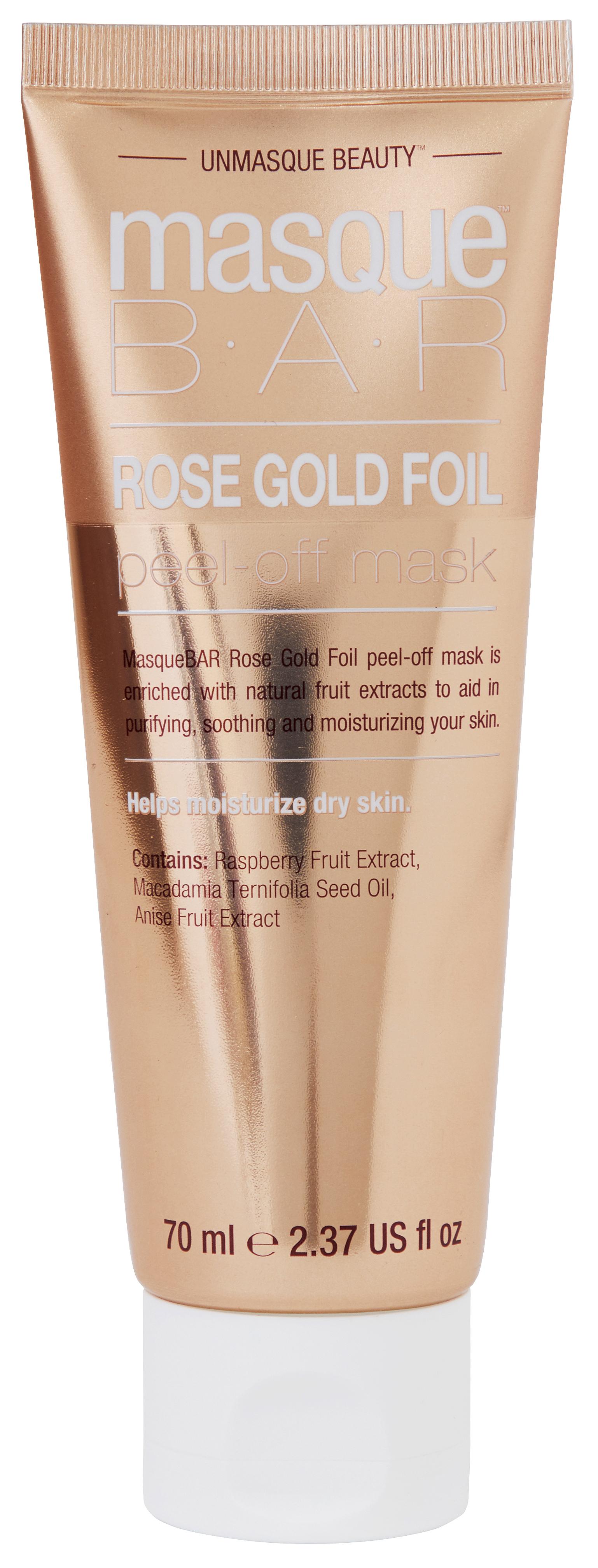 Rose Gold Foil Peel-Off Mask Tube 70ml