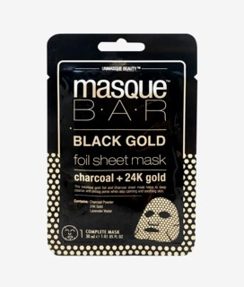 Black Gold Foil Charcoal + 24K Gold Sheet Mask 21 ml