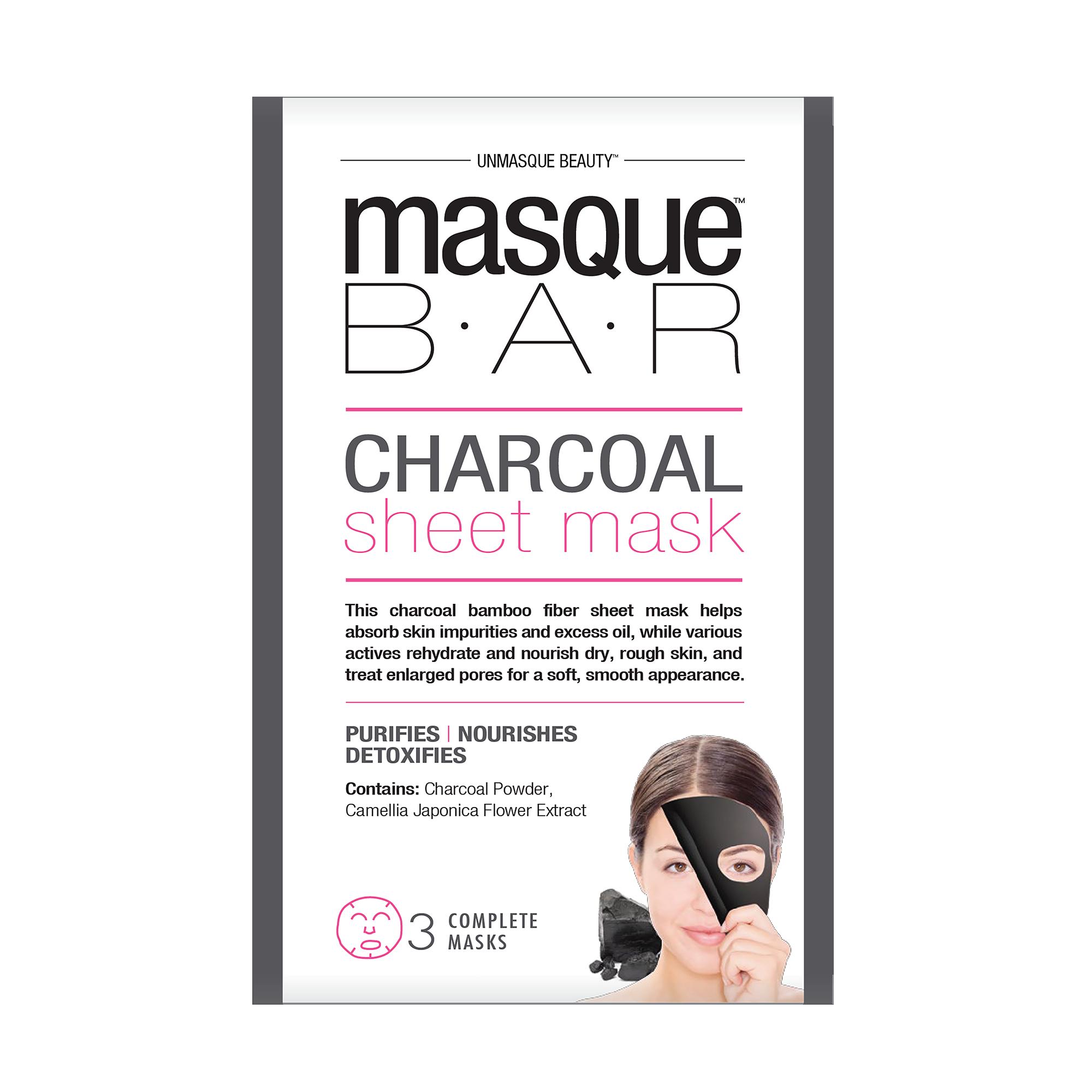 Charcoal Sheet Mask 3x 21ml