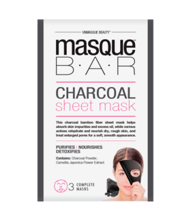 Charcoal Sheet Mask 3x 21 ml