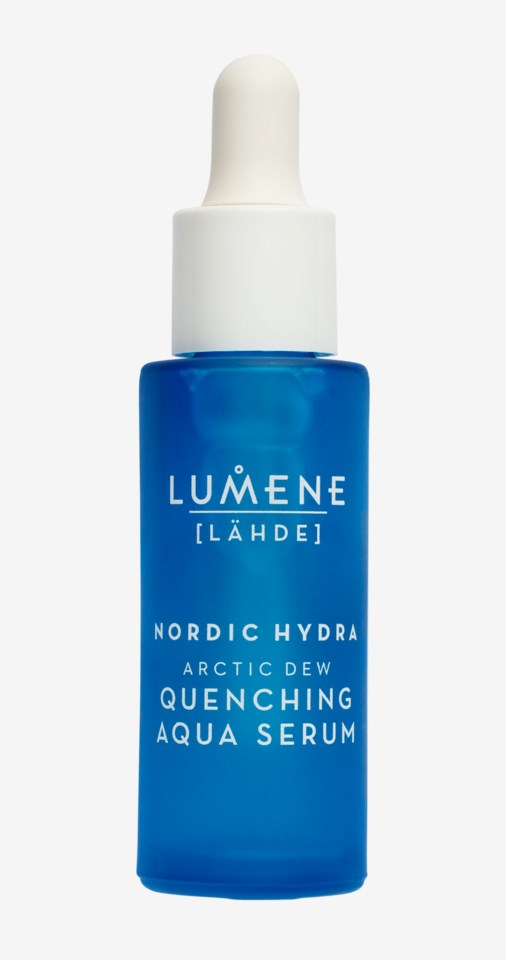 Lähde NORDIC HYDRA Arctic Dew Quenching Aqua Serum 30ml