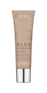 Blur Foundation 0 Light Ivory