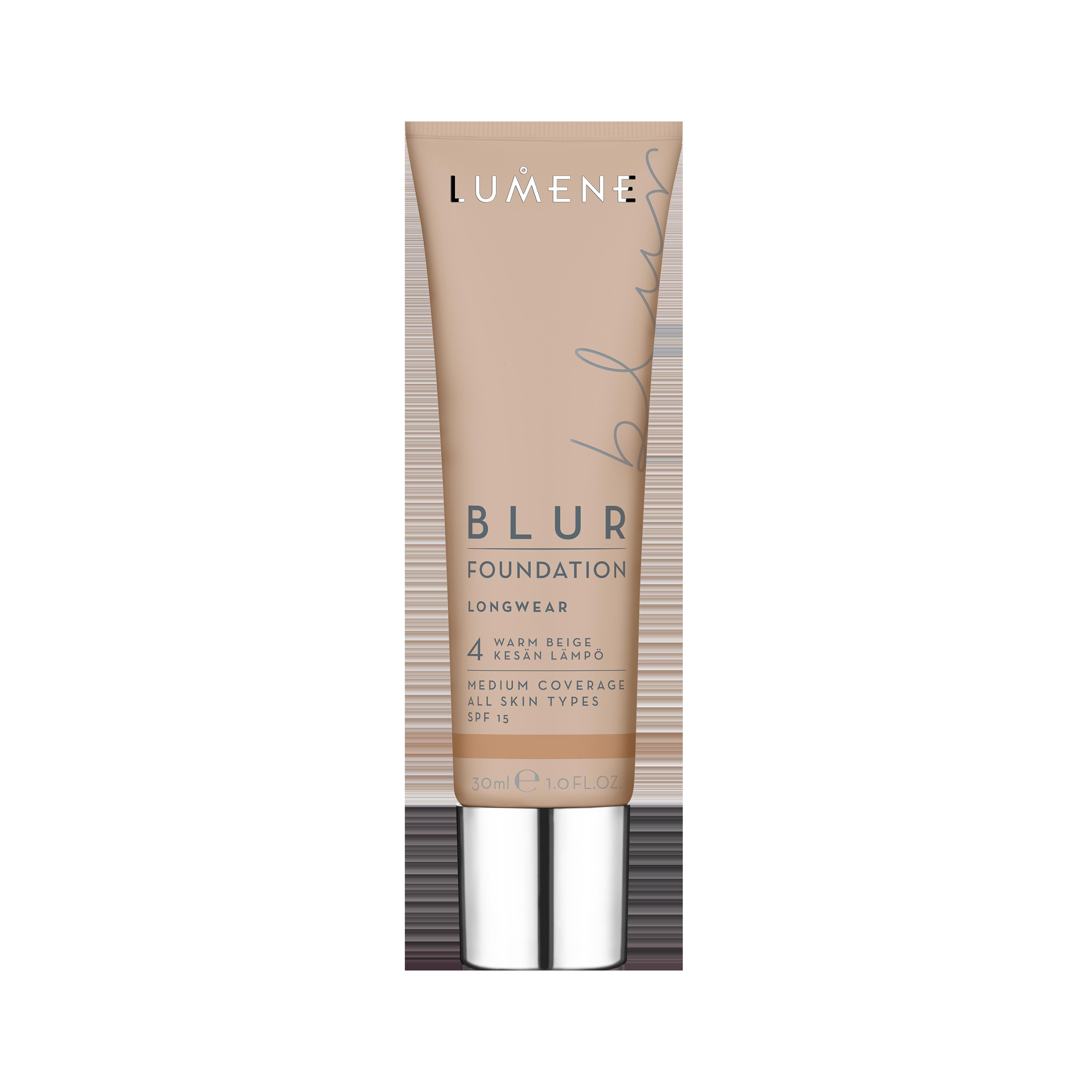 Blur Foundation 4 Warm Beige