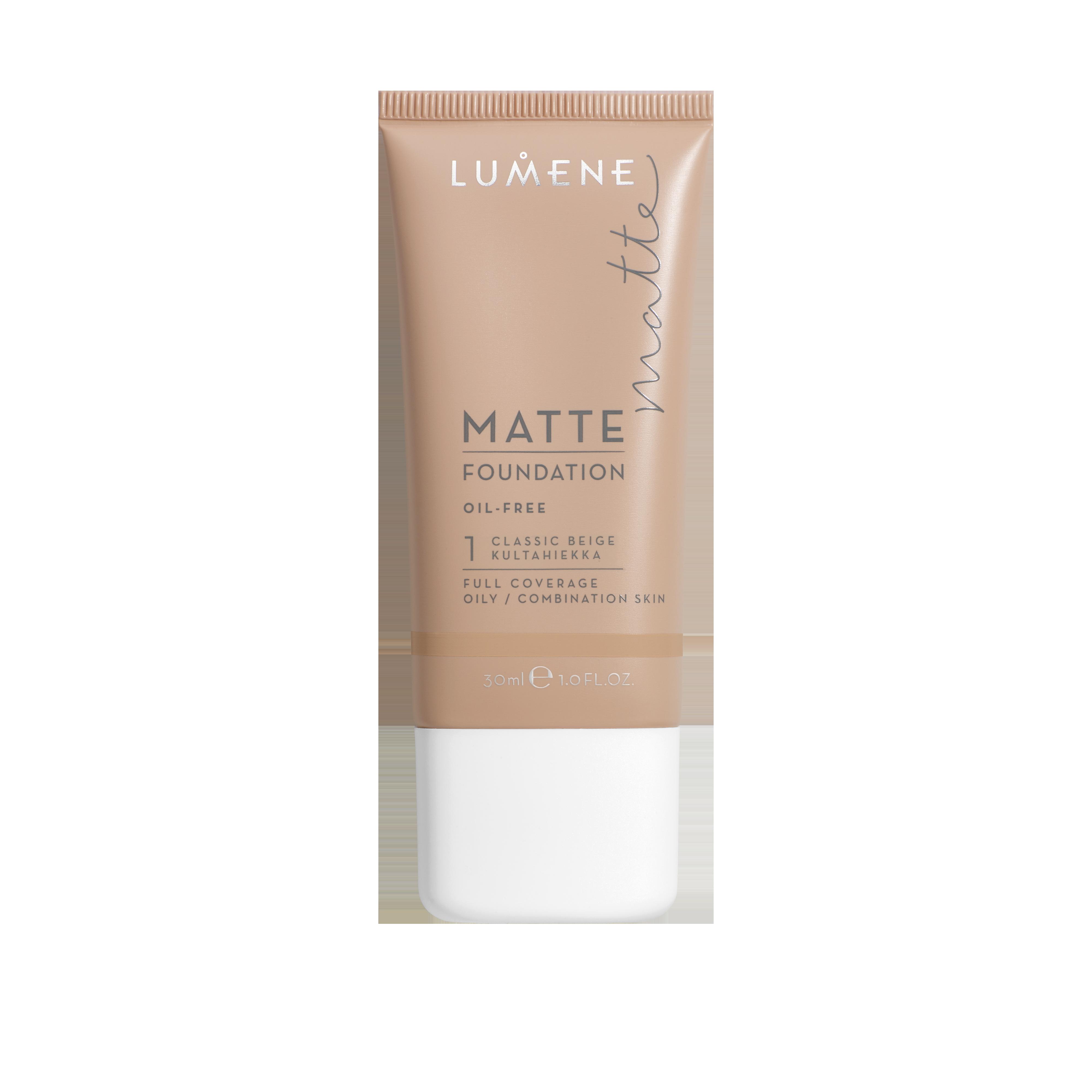 Matte Foundation 1 Classic Beige