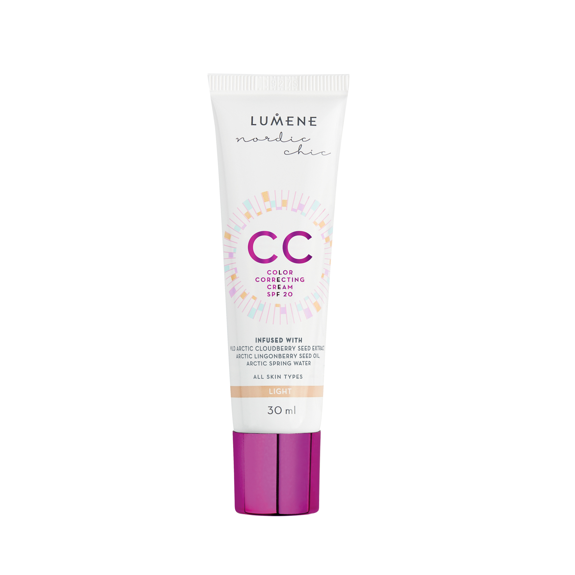 Nordic Chic CC Color Correcting Cream Light