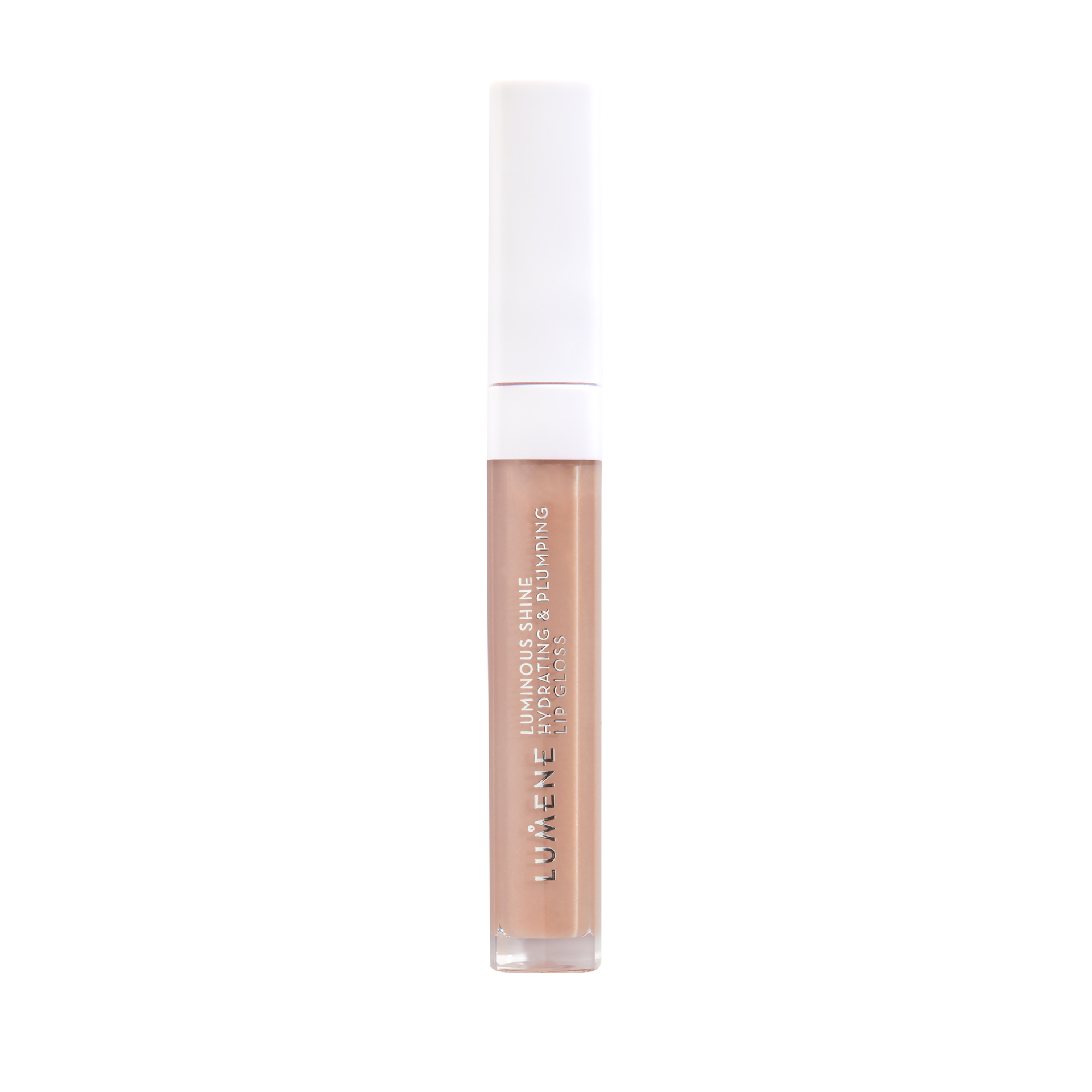 Luminous Shine Hydrating & Plumping Lip Gloss 1 Pale Honey