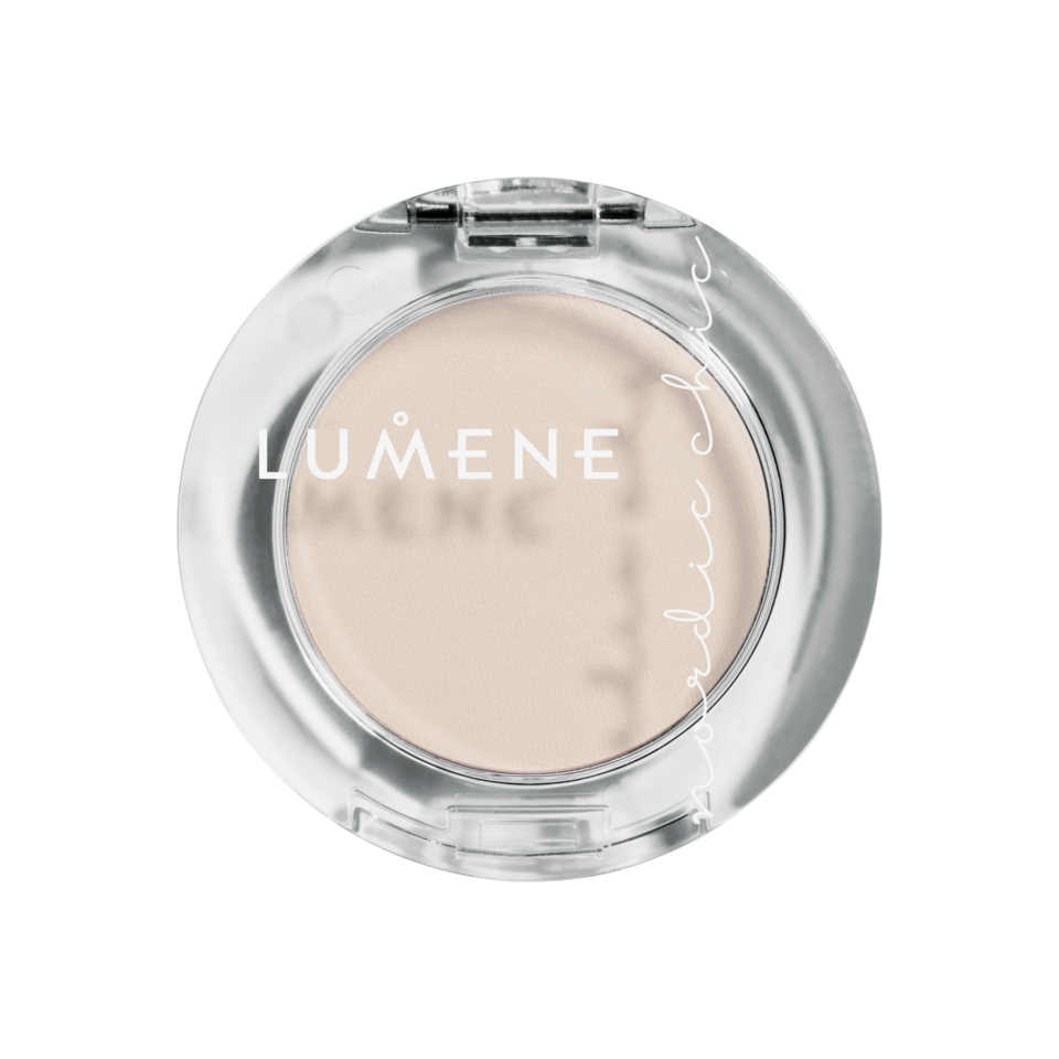 Nordic Chic Pure Color Eyeshadow 1 White Nights