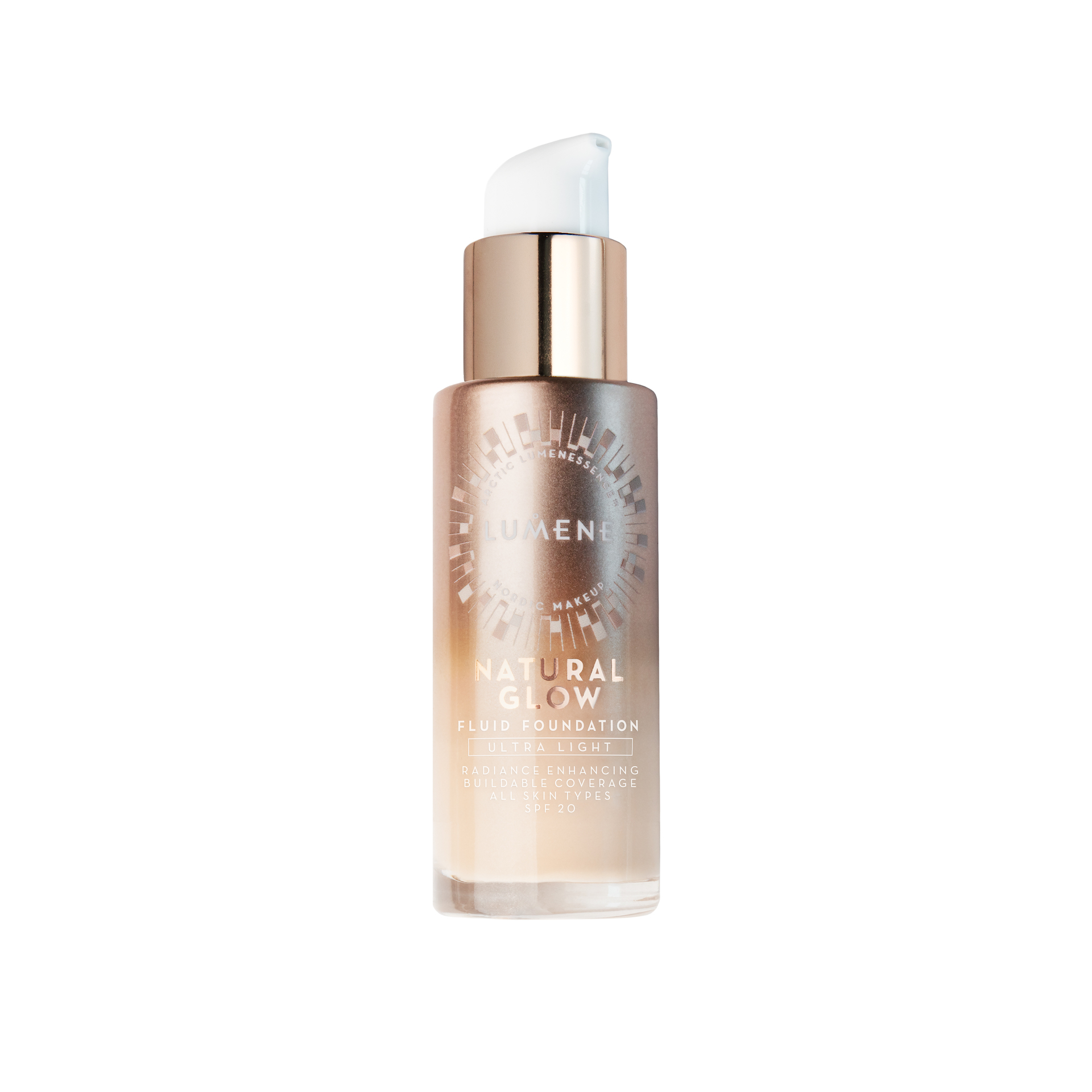 Lumene Natural Glow Fluid Foundation – Ultra Light
