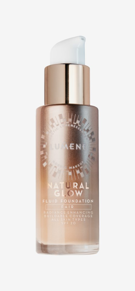 Natural Glow Fluid SPF 20 Foundation Fair