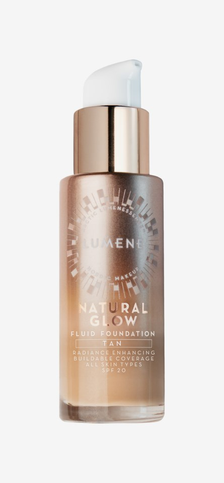 Natural Glow Fluid SPF 20 Foundation Tan