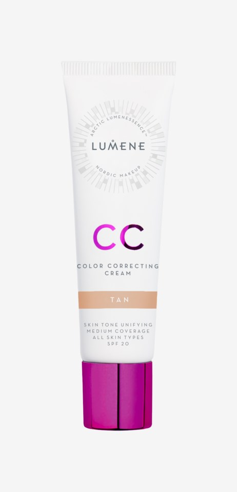 CC Color Correcting Cream SPF 20 Foundation Tan