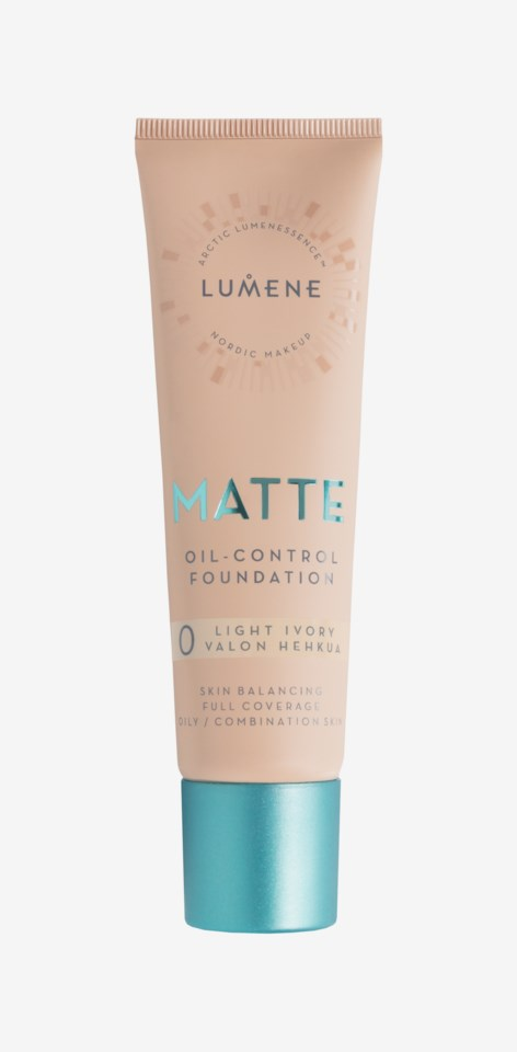 Matte Oil-control Foundation 0 Light Ivory