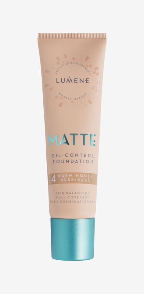 Matte Oil-control Foundation 4 Warm Honey