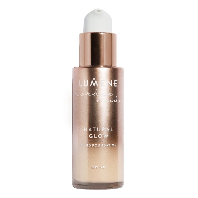 Nordic Nude Natural Glow Fluid Foundation SPF20 1 Porcelain