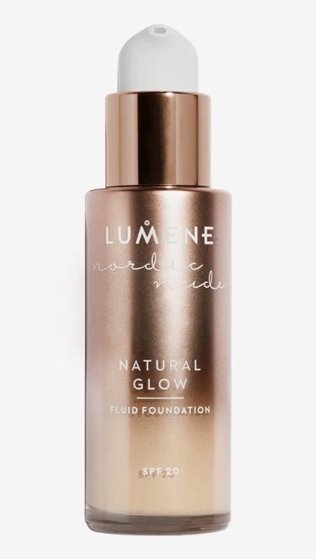 Nordic Nude Natural Glow Fluid Foundation SPF20 1Porcelain