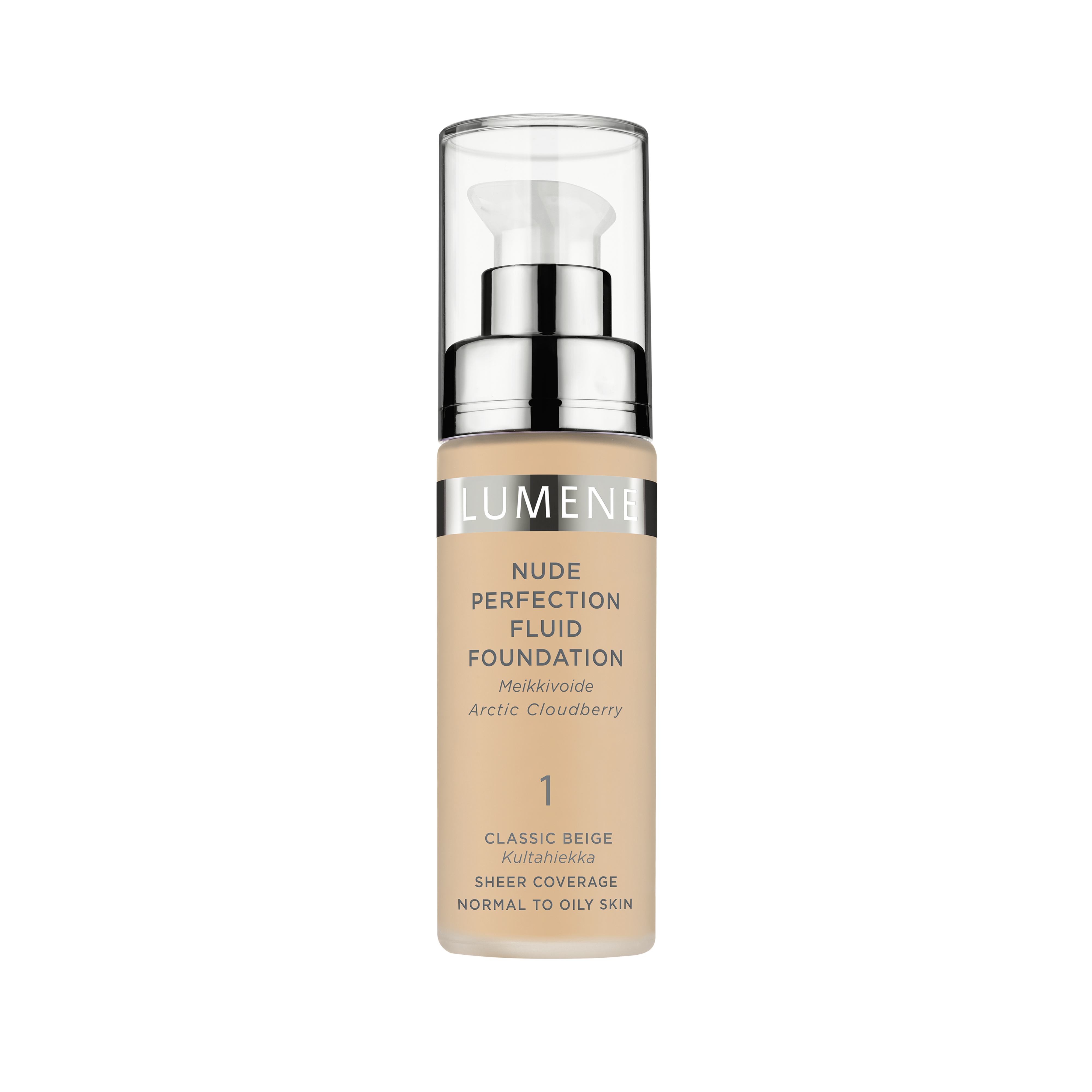 Nude Perfection Fluid Foundation 1 Classic Beige
