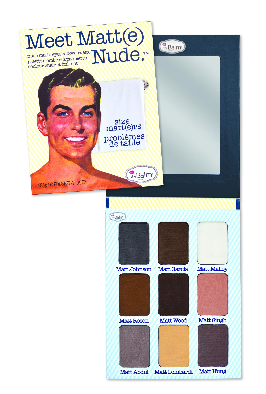 Meet Matte Nude Eyeshadow Size Matters
