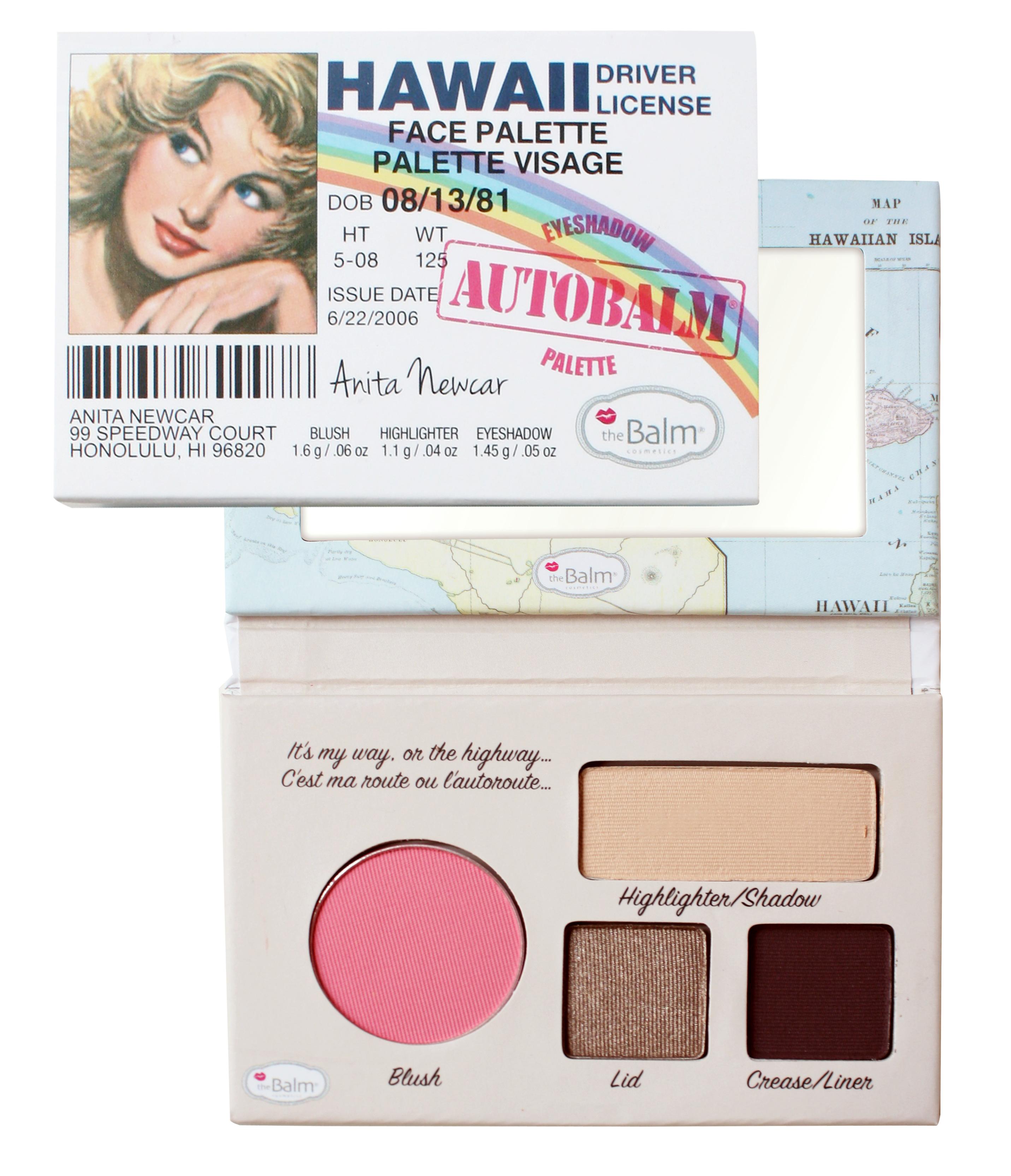 Autobalm Hawaii Eyeshadow AutoBalm Hawaii Face Palette